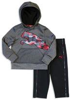 Puma Boys' Cat Hoodie & Track Pants Set - Sizes 2T-4T