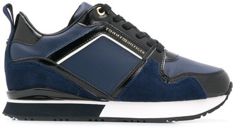Tommy Hilfiger Patent Wedge Sneakers
