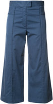 Veronica Beard cropped flared trousers
