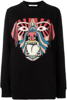 Givenchy tribal print sweatshirt - women - Cotton - S