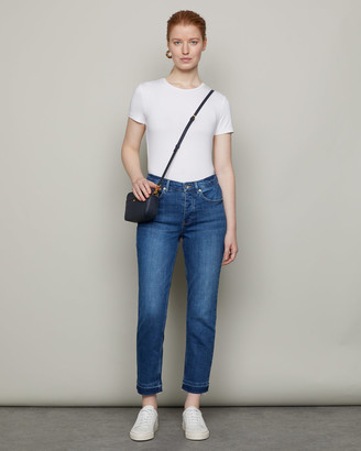 Jigsaw Blenheim Crop Classic Straight Leg Jean