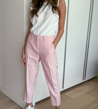 Y.A.S tailored pants in pink