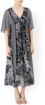 Monsoon Olivia Print Midi Dress