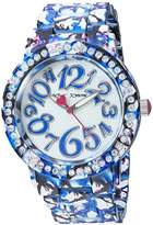 Betsey Johnson Women's Quartz Metal and Alloy Casual WatchMulti Color (Model: BJ00482-15)