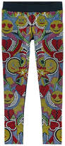 Philipp Plein Mini Me leggings with rhinestones
