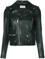 Saint Laurent classic motorcycle jacket - women - Leather - 36