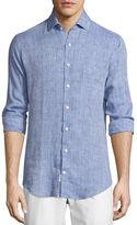 Peter Millar Crown Cool Linen Sport Shirt