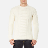 Edwin Men's United Sweatshirt Natural