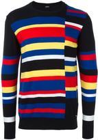Diesel striped sweatshirt