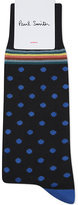 Paul Smith Multi-stripe And Polka-dot Cotton-blend Socks