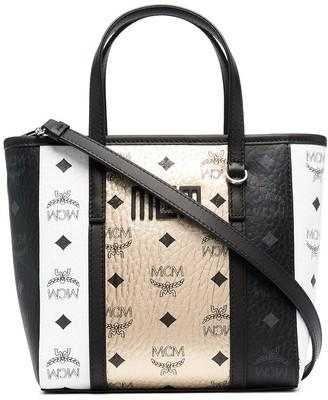 MCM Multi-Panel Design Tote Bag