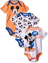 Disney Baby Mickey Mouse 3 Pack Bodysuits
