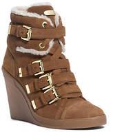 Michael Kors Lizzie Suede Wedge Sneaker