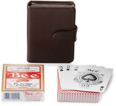 Neiman Marcus Playing Cards Boxed Set, Brown