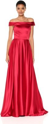 Mac Duggal Women's Off The Shoulder Gown