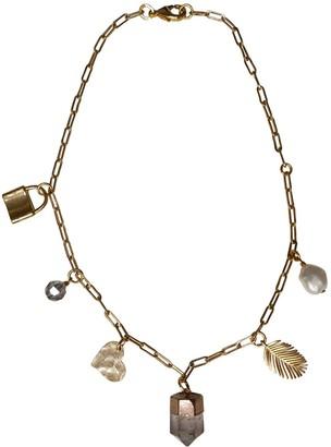 Tiana Jewel Divine Love Clear Quartz Gemstone Charm Necklace