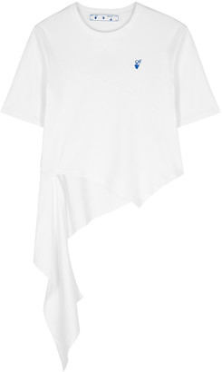 Off-White DNA Spiral white cotton T-shirt