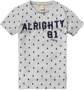 Scotch & Soda Printed Text Artwork T-Shirt