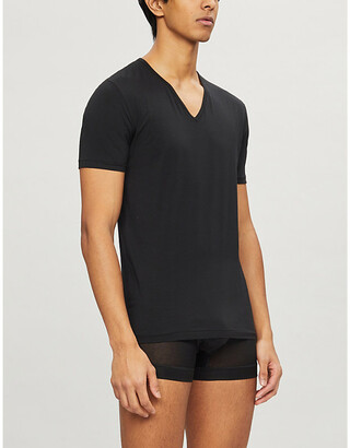 Zimmerli Pure Comfort cotton-blend T-shirt