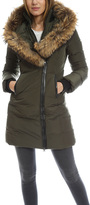 Mackage Kay Long Classic Down V Fur Jacket