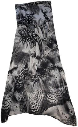 Harrods Black Silk Skirt for Women
