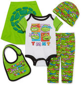 TMNT Nickelodeon Ninja Turtles 5-pc. Bodysuit and Pants Set - Baby Boys newborn-6m