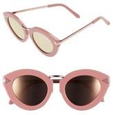 Karen Walker 'Lunar Flowerpatch' 49mm Sunglasses