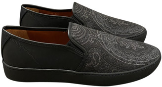 Etro Black Cloth Trainers