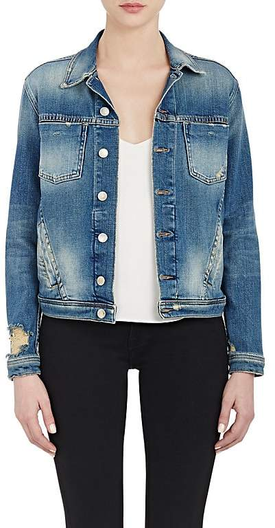 L'Agence Women's Denim Celine Jacket