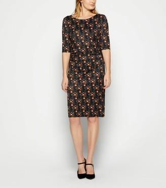 New Look StylistPick Floral Spot Jersey Dress