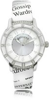John Galliano Parlez Moi d'Amour - Stainless Steel with Leather Strap Watch