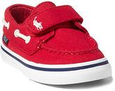 Ralph Lauren Toddler Batten Canvas Ez Boat Shoe