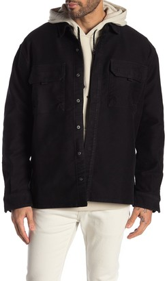 Hudson Snap Button Shirt Jacket
