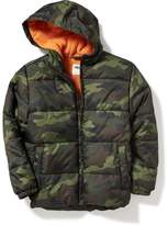 Old Navy Hooded Frost-Free Jacket for Boys