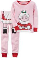 Carter's 2-Pc. Mrs. Claus Cotton Pajama Set, Toddler Girls (2T-5T)