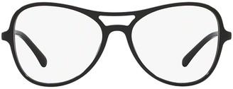 Chanel Round Frame Aviator Glasses