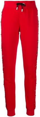 Philipp Plein Logo Jogger Trousers