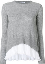 Dondup layered jumper - women - Polyester/Cashmere/Merino - XS