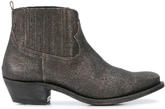Golden Goose Crosby sparkle-effect ankle boots