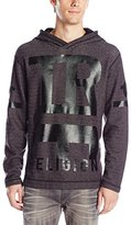 True Religion Men's French Terry Slim Fit Hoodie