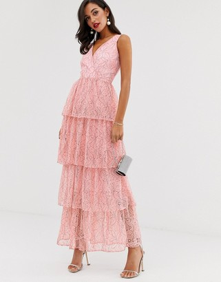 UNIQUE21 plunge maxi dress