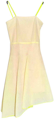 Christian Dior Yellow Polyester Dresses