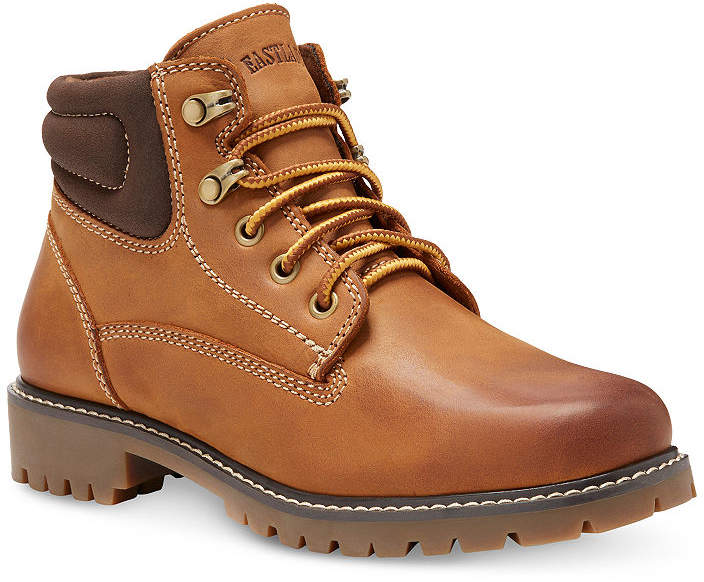 Eastland Womens Edith Lace Up Boots Block Heel