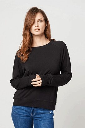 Stripe & Stare Essential Black Sweatshirt - Small