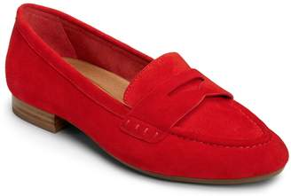Aerosoles Womens Map Out Penny Loafers
