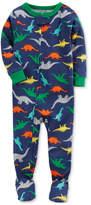 Carter's 1-Pc. Dino-Printed Cotton Pajamas, Baby Boys