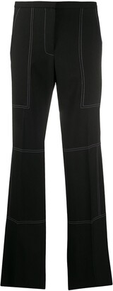 Nina Ricci Contrast Stitched Trousers