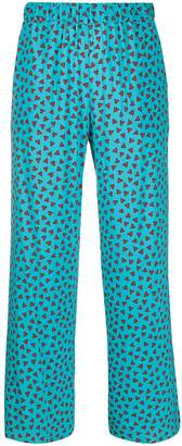 P.A.R.O.S.H. Loose-Fit Heart Trousers