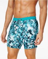 HUGO BOSS Men's Tapered Floral Board Shorts