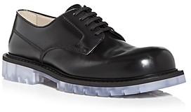 Bottega Veneta Men's Plain Toe Oxfords